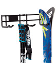 Double Ski Storage Rack